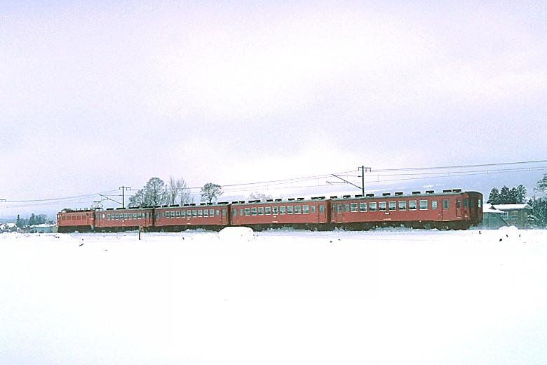 ED77+50系客車