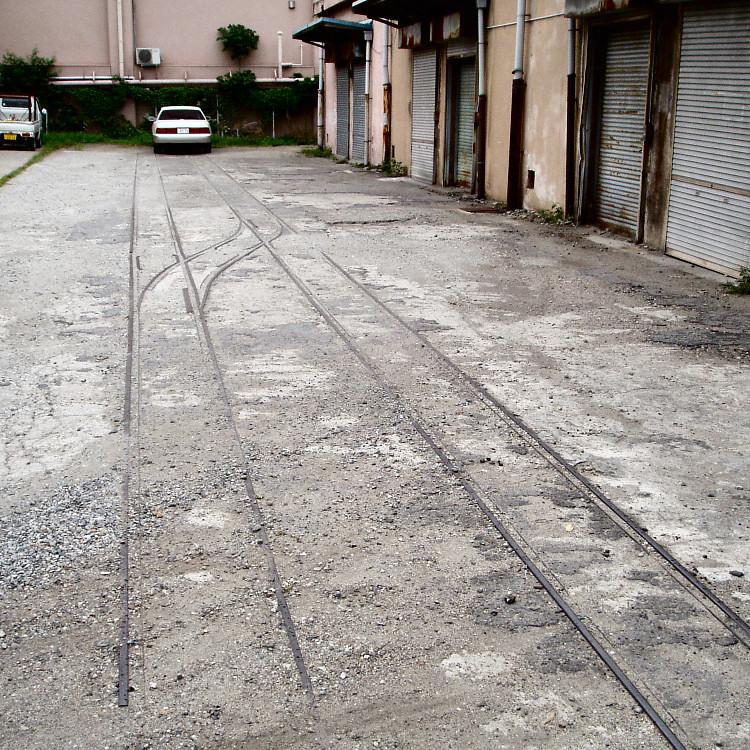 旧淀川貨物駅付近トロッコ廃線跡