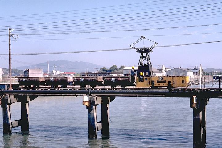 三池鉱業所三川坑坑外軌道