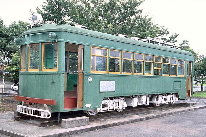 南海平野線モ217(保存車両)