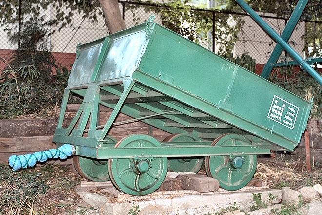 摩耶ケーブル貨車