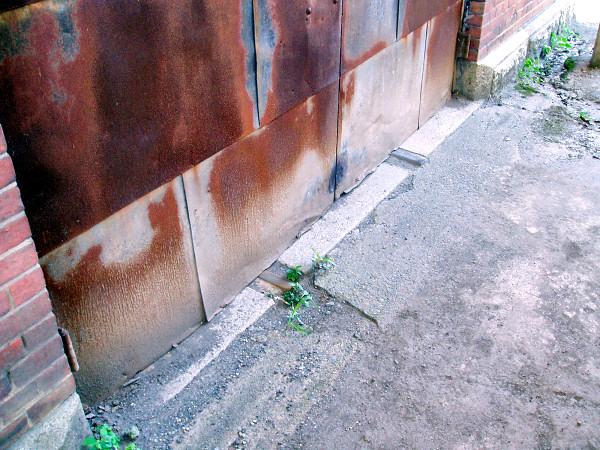 舞鶴赤れんが倉庫廃線跡