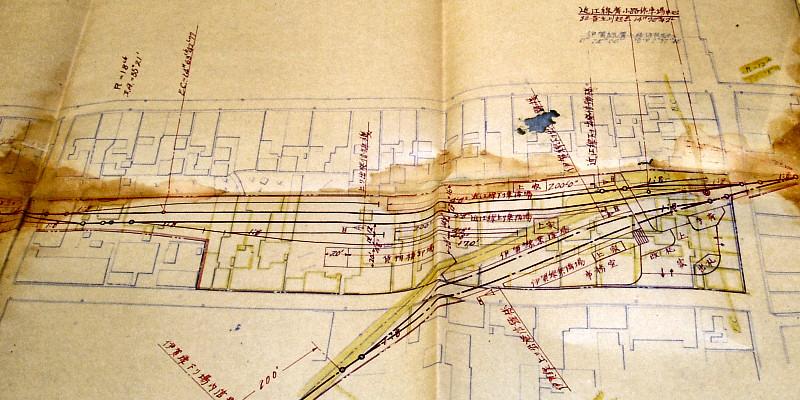 伊賀鉄道広小路駅近江鉄道乗り入れ計画図