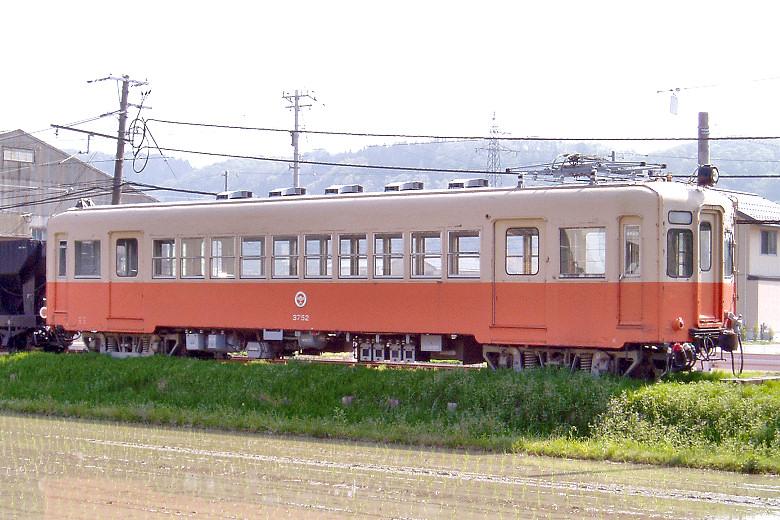 北陸鉄道モハ3752