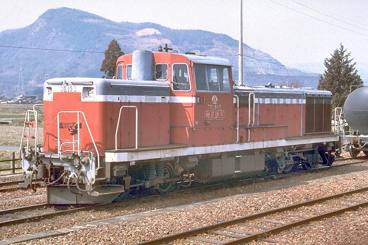 樽見鉄道TDE105