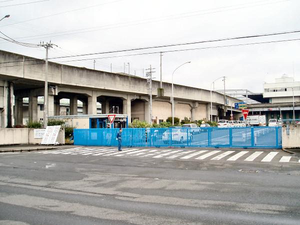 大阪府中央卸売市場専用線
