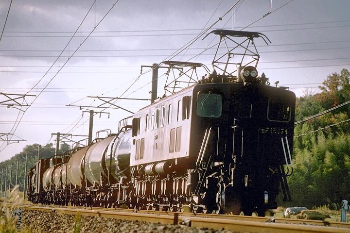 EF15牽引タンカー列車